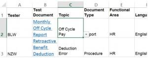 3. Standardization Grid