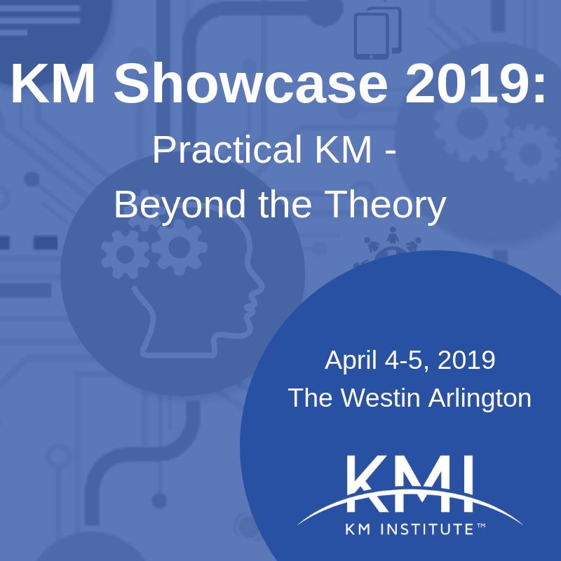 KM Showcase: Practical KM 0 Beyond the Theory