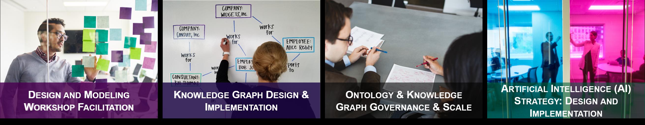 Design, Data Modeling, Semantic Workshop, knowledge Graph Implementation, Ontology Governance & AI Strategy