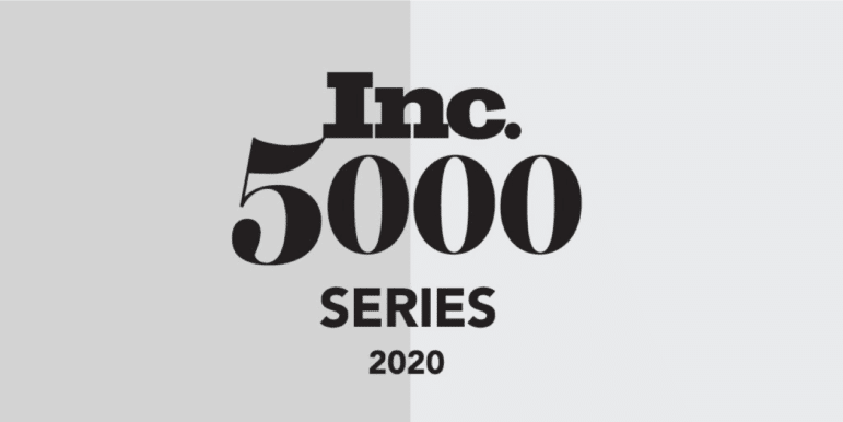 graphic with the Inc. 5000 series 2020 logo