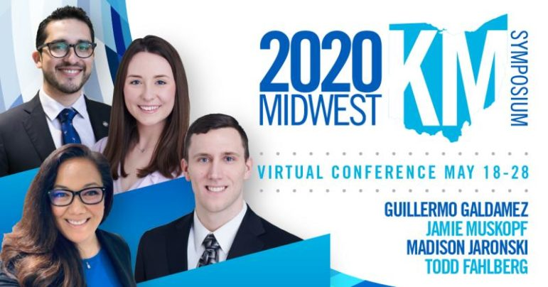2020 Midwest KM Symposium includes images of speakers