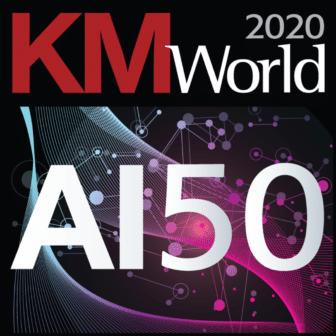 2020 KMWorld AI 50