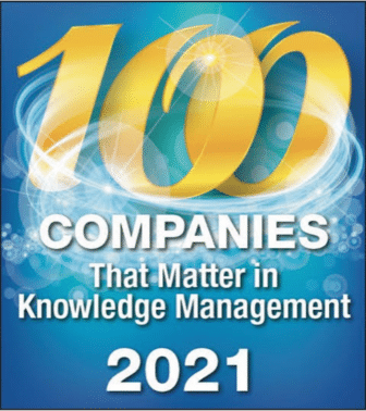 100 companies that matter in Knowledge Management 2021