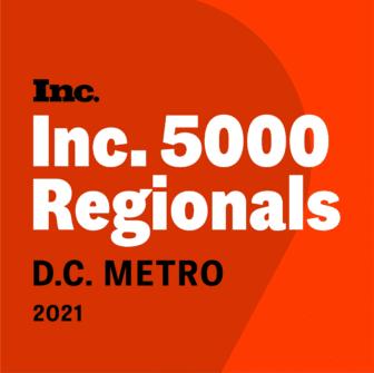 Inc. 5000 Regionals D.C. Metro 2021
